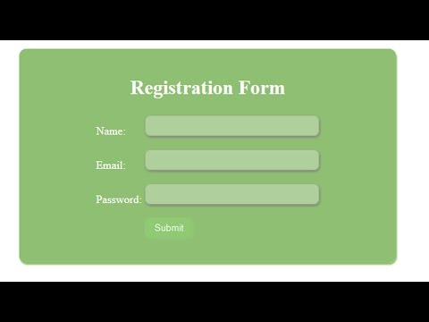 5) How to create a Signup form registration - Secure PHP Login System