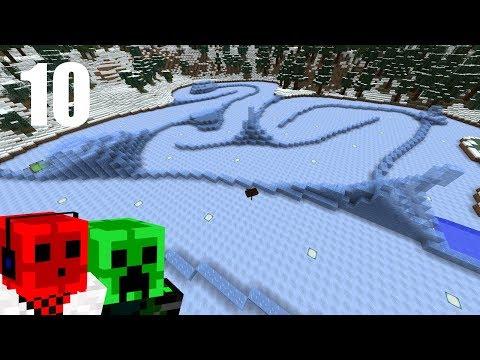 ICE PHYSICS | 2017 Minecraft Christmas ADVENTure Map | Day 10
