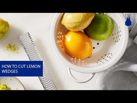 How to Cut Perfect Lemon Wedges in No Time at All with Blue Apron