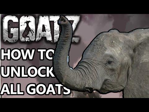 GoatZ How to unlock all goats