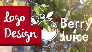 Download Logo Design Illustrator Tutorial - Berry Juice - Branding for a small juice company Video