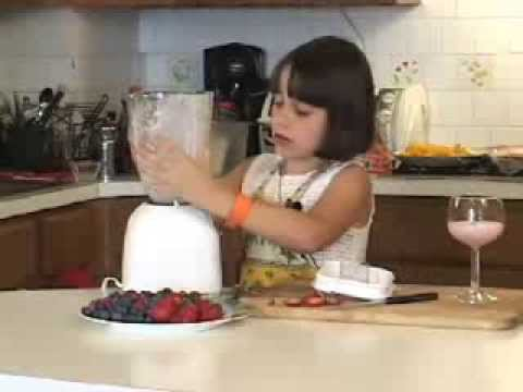 How to make a milkshake for kids