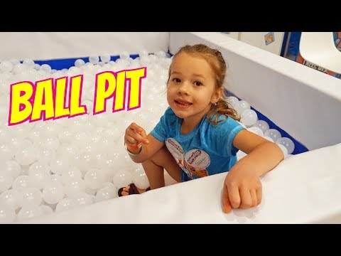 Ballpit FULL of Lost Kitties Surprise Toys in Play-Doh at Clamour Con