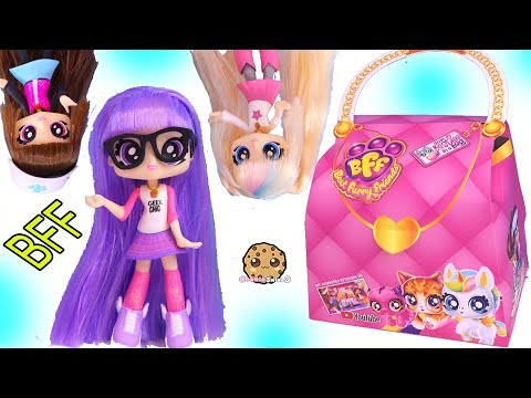 BFF Girls ! Best Furry Friends Dolls + Surprise Blind Bag Pets