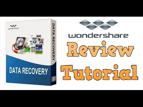 Wondershare Data Recovery Software Review and Tutorial 2016