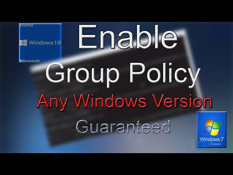 Manually Install Group policy Editor Windows 7 Home