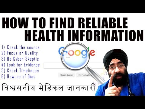 Rx EARTH epi 3 : How to Find Reliable Health Information Online | False Proof | Dr.Education