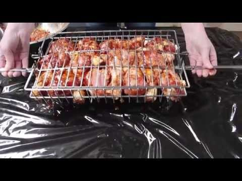 How to use a Spit Rotisserie Multi-Use Basket
