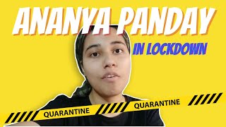 Ananya Panday in Lockdown | salonayyy | Saloni Gaur