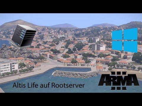 [HowTo] Arma 3 Altis Life Server auf Windows Rootserver   German