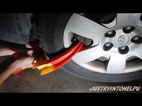 Wheel Lock Clamp Boot Tire Claw Anti-Theft Towing- Review, Demonstration