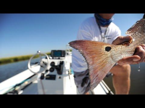 Red Fishing in Louisiana Capt Ryan Lambert Cajun Fishing Adventures