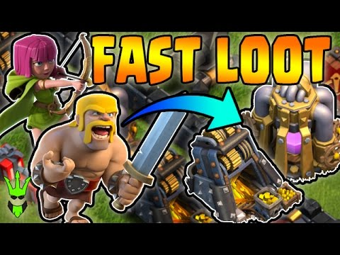 BARCH IS STILL GOOD - TH9 Dead Base Farming - Clash of Clans - Fast Easy Loot