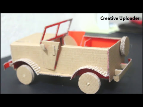 How to make a  truck Car from cardboard 2017, Diy cars out of cardboard or paper 2017