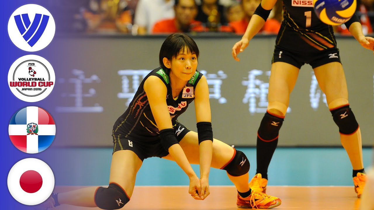 Japan vs. Dominican Republic - Full Match | Women's Volleyball World Cup 2015