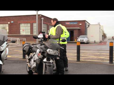 Getting Ready For Your Motorcycle Driving Test - RSA Driving Test Video Series - Video 4