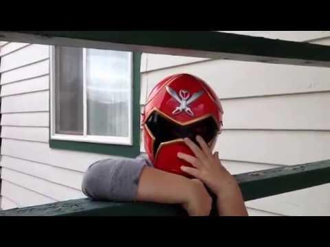 DIY Power Rangers Helmet in Action
