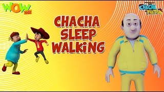 Chacha Sleepwalking - Chacha Bhatija - 3D Animation Cartoon for Kids| As on Hungama TV