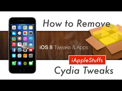 How to remove all cydia tweaks at once on iPhone iPad