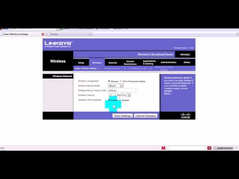 How to Secure linksys wifi network