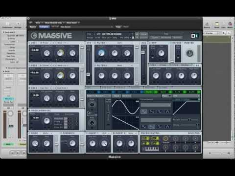 Creating An Electro Song In NI Massive -- Part 1 The Bass Synth