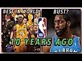 The NBA 10 Years Ago