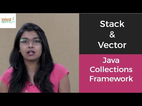 Stack & Vector in Java | Java Collections Framework | TalentSprint