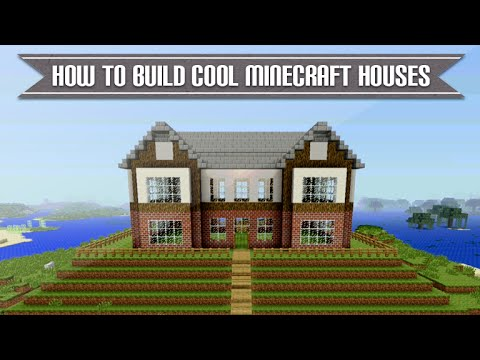 Minecraft Xbox & Playstation -  HOW TO BUILD A COOL MINECRAFT HOUSE SIMPLE & EASY TUTORIAL [5]