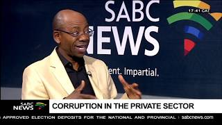 Download Corruption in the private sector: Bonang Mohale Video