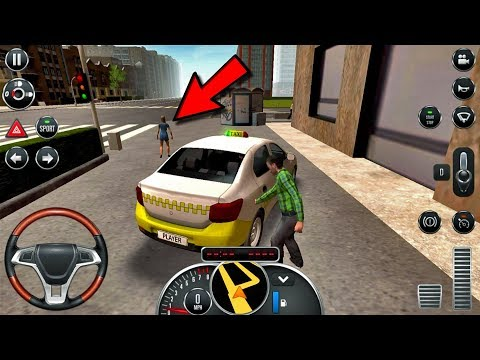 🤣 🤣😂😂😵 Taxi Sim 2016 #6 - Android IOS gameplay walkthrough