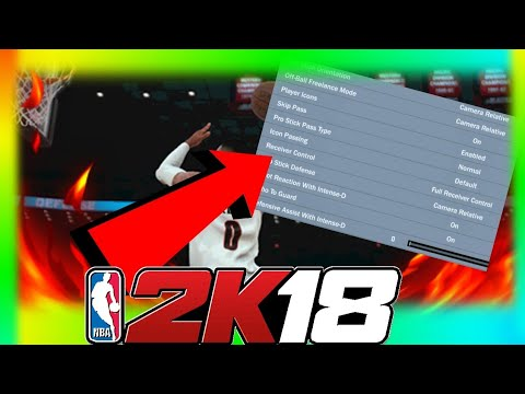NBA 2K18 - CHANGE YOUR SETTINGS TO THIS TO EARN MORE XP AND VC PER GAME! REP UP MORE EFFICIENTLY!!!