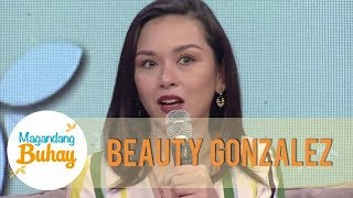 Beauty admits that she and Dimples Romana are staying on different tents | Magandang Buhay