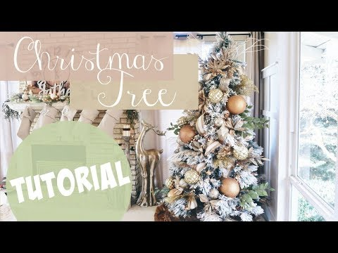 CHRISTMAS TREE TUTORIAL!