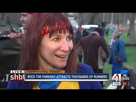 Thousands brave chilly temps to Rock the Parkway