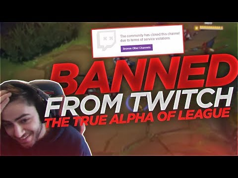 Yassuo | BANNED FROM TWITCH?!? THE TRUE ALPHA OF LEAGUE