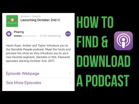 How to Download & Listen to a Podcast | iPhone and iPad