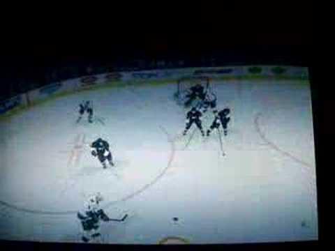 NHL 08 sickest goal (against) EVER!!!!!