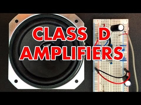 Class D Amplifier Tutorial!