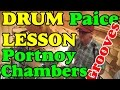 Drum lesson | Mike Portnoy Dennis Chambers (Cissy Strut) Ian Paice (Rock Cowbell) Урок на барабанах