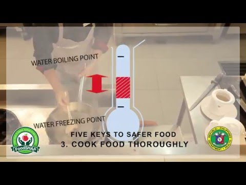 Basic Food Safety for Food Handlers || Philippines