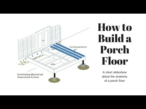 How to Build Porch Floor by Front Porch Ideas