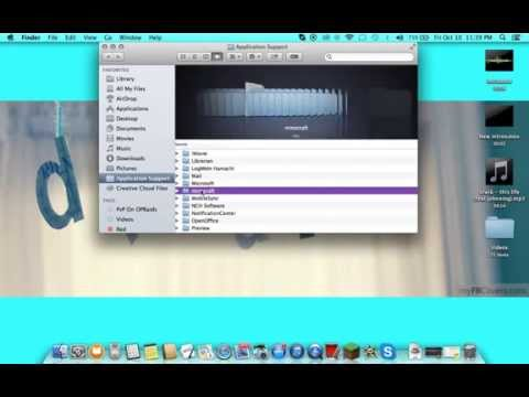 How to find your minecraft folder on mac ~So Easy~