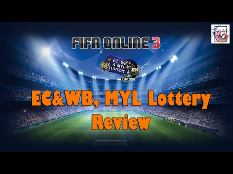 Fifa Online 3 - EC&WB, MYL Lottery Pack Opening & Review