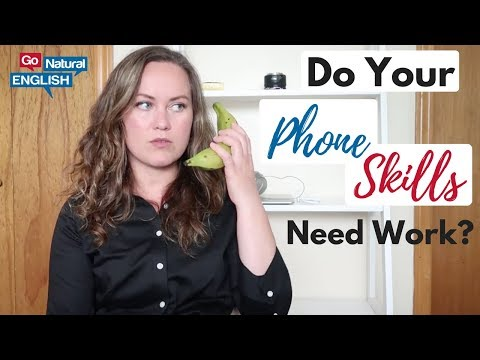 HOW TO IMPROVE YOUR 📞 PHONE 📱 SKILLS TO SOUND MORE LIKE A NATIVE ENGLISH SPEAKER