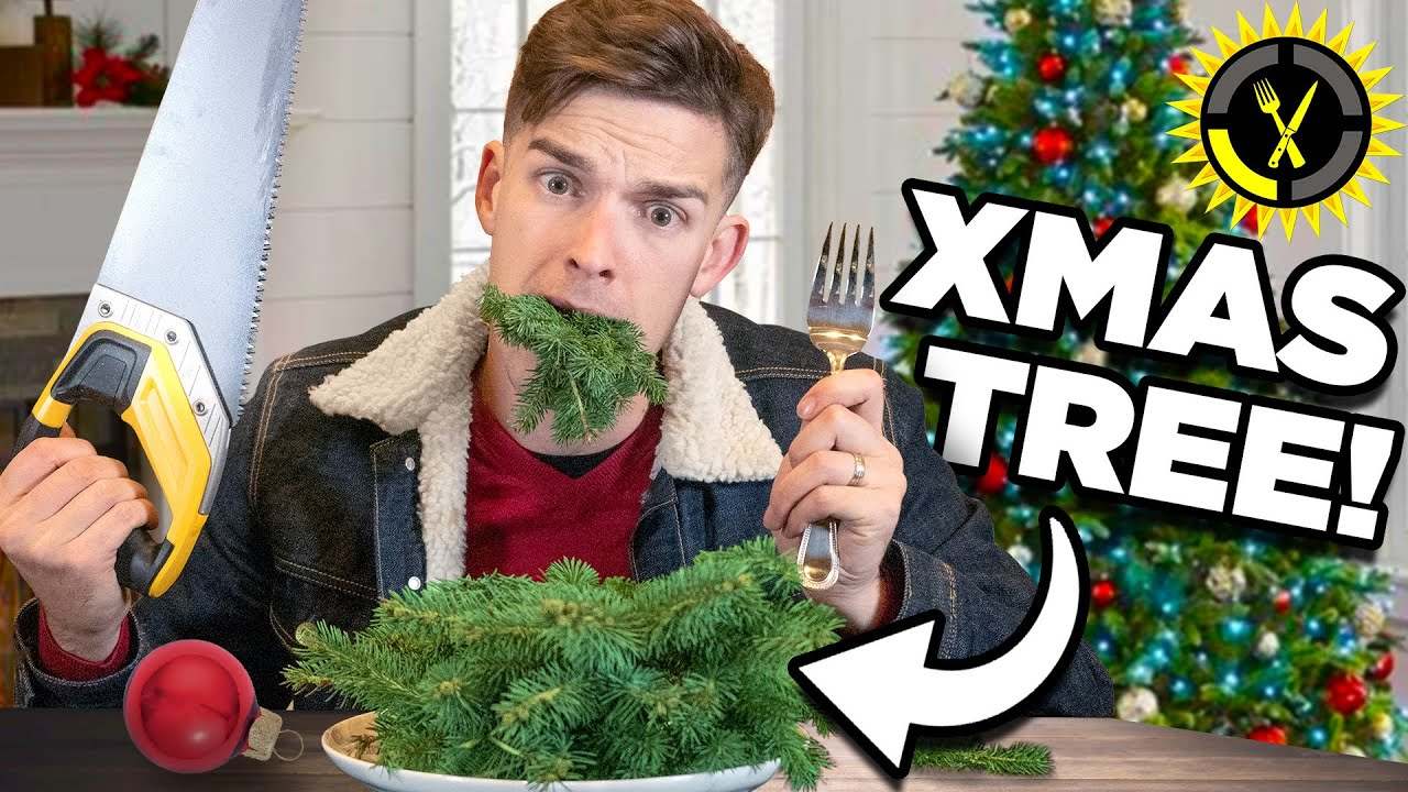 Food Theory: I Ate My Whole Christmas Tree... And So Can You!