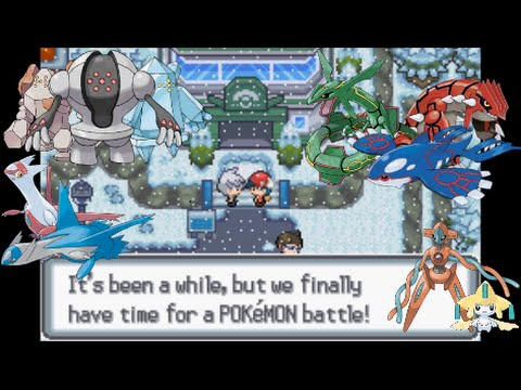 Let's Play Pokemon Light Platinum 46 - Hoenn Legendaries