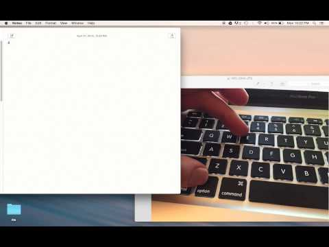 How to add accent to letters on a mac
