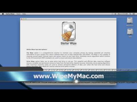 Wipe Mac Hard Drive Without a Trace