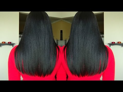 Maintaining Healthy Relaxed Hair |Relaxed Hair Care| Trims