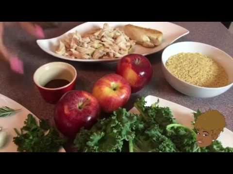 Chicken Apple Orzo Soup